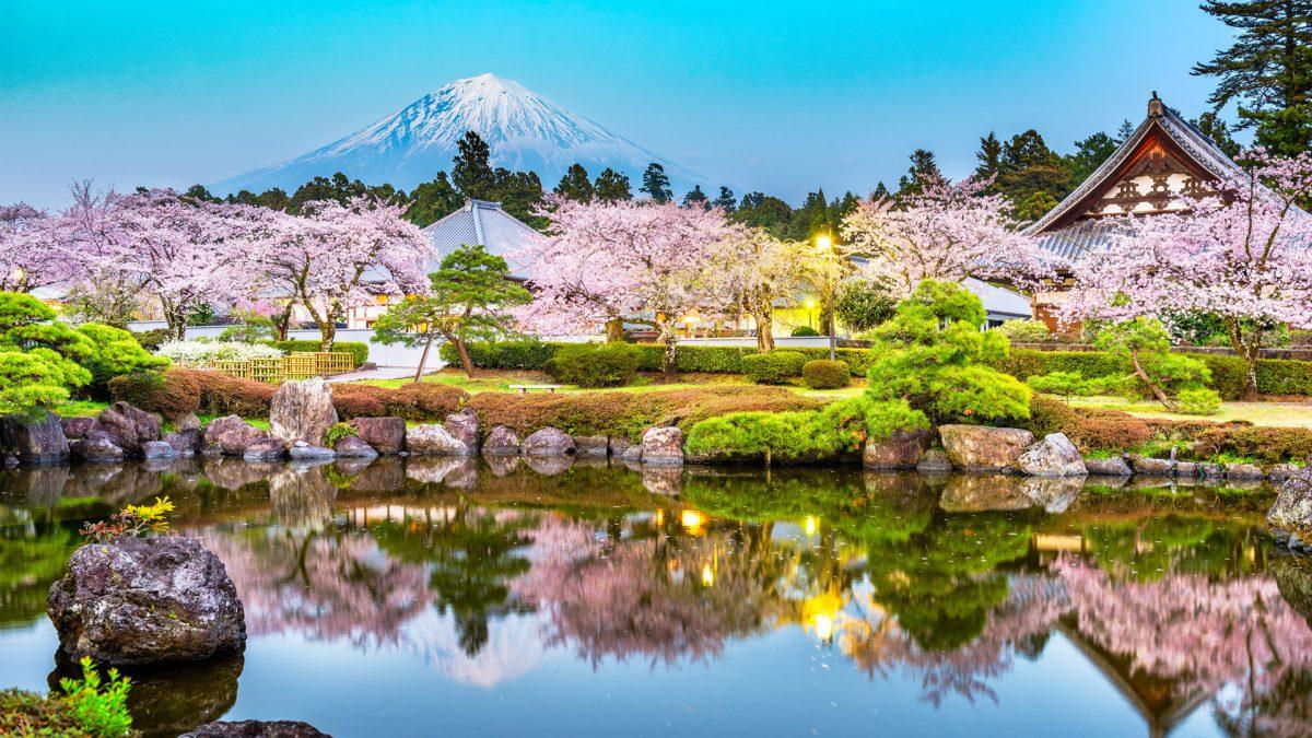 ภูเขาไฟฟูจิ (Mt. Fuji)